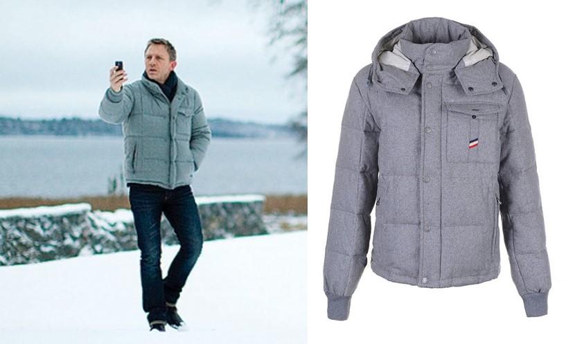 Daniel Craig Moncler Jacket cold weather style